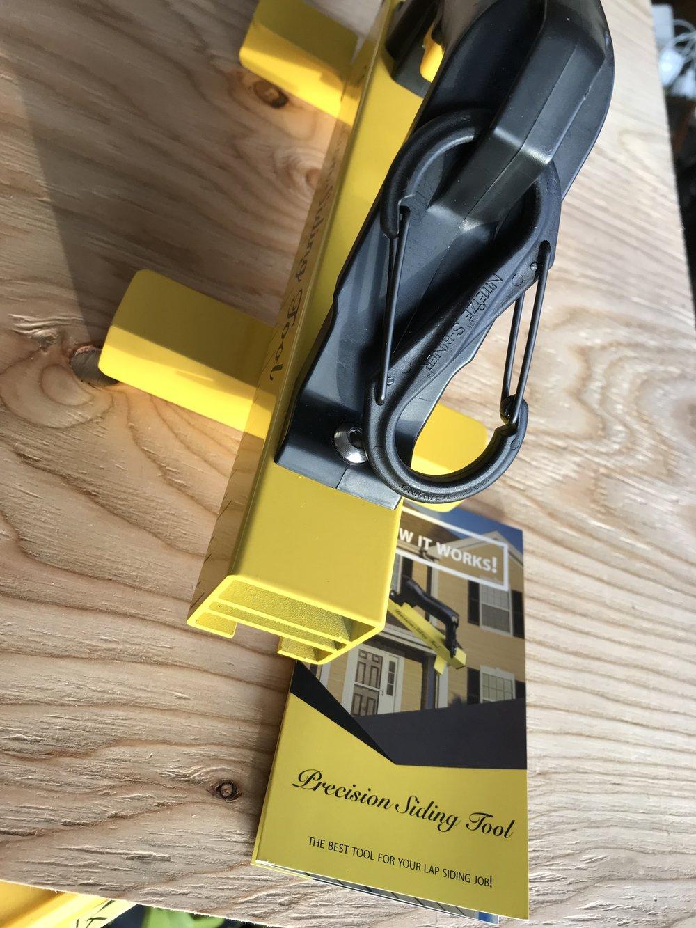 S Biner Belt Loop.  *Hooks to any Garment or Tool Belt.
