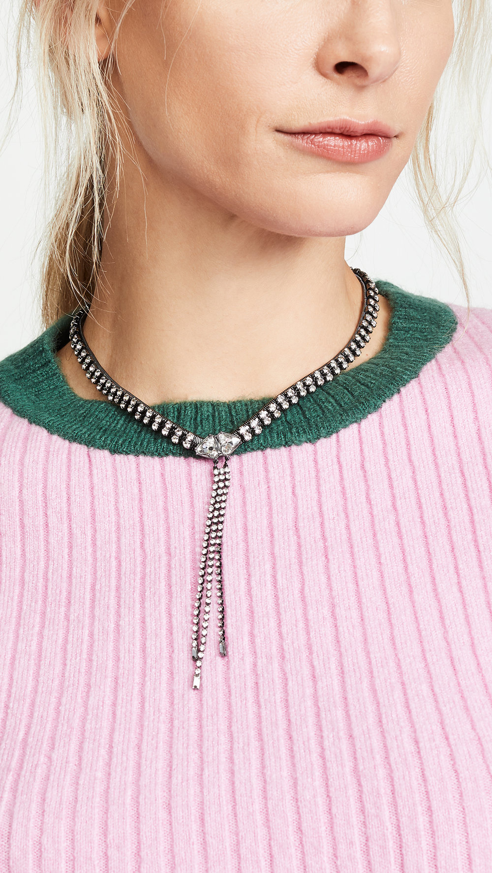 Rebecca Minkoff Crystal Necklace - Was: $78.00Now: $54.60