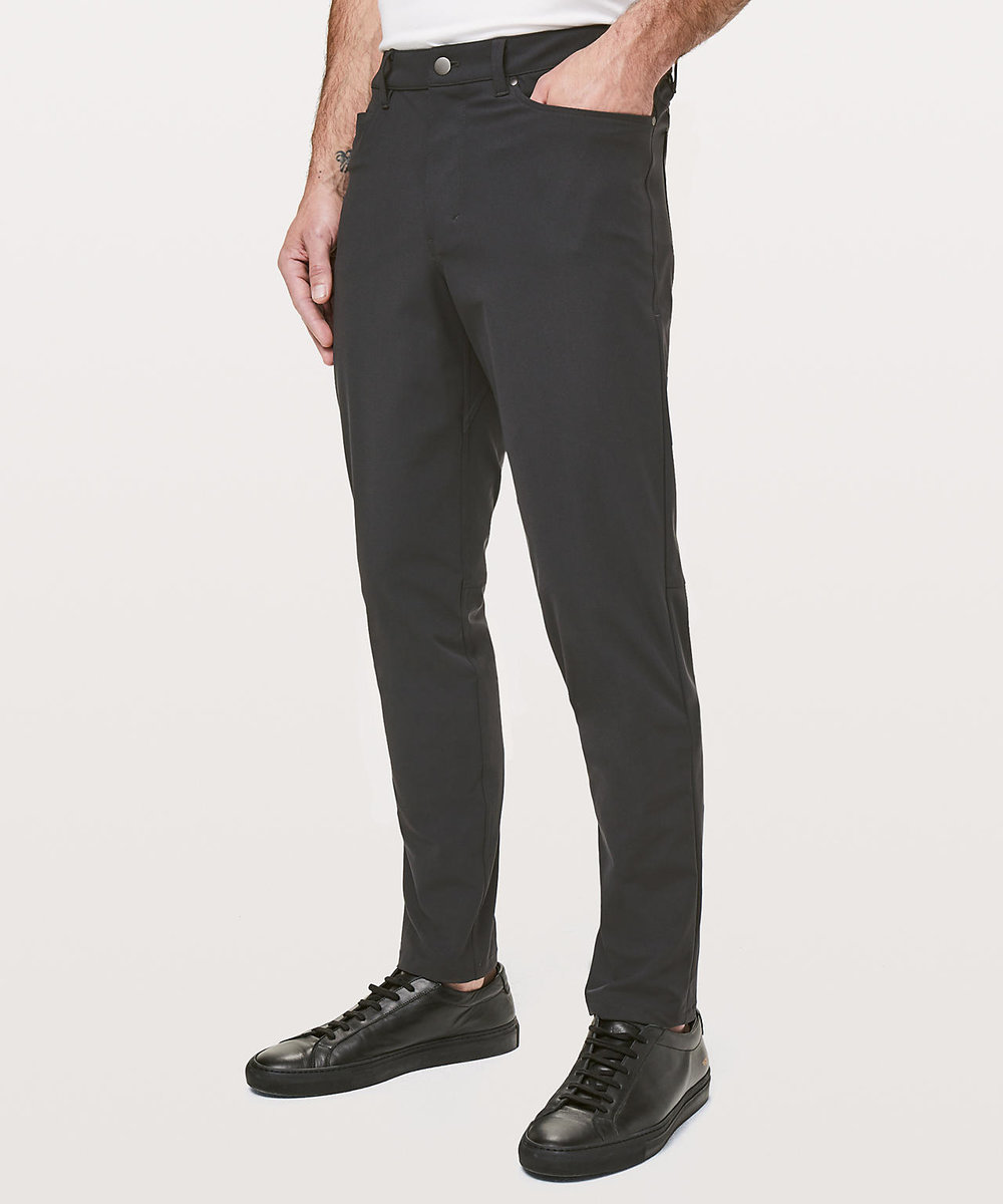 lululemon sweats - These pants are an amazing alternative to jeans or even dress pants. They are so versatile and totally worth the price!