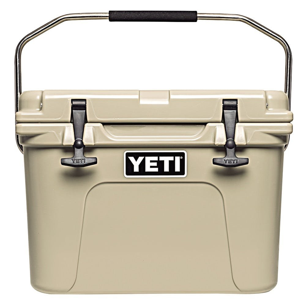 roadie 20 yeti cooler - This YETI cooler is awesome for any activity and lasts forever! I'm obsessed with the desert sand color.