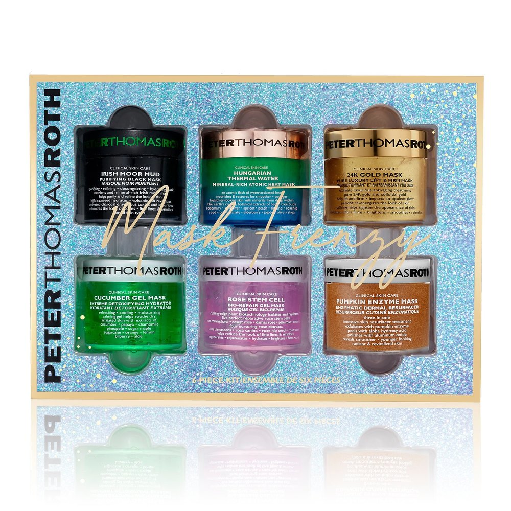 MASK FRENZY - Some self care for Christmas, Peter Thomas Roth is known for his amazing face masks! This gift set is such a steal any girl would LOVE this.