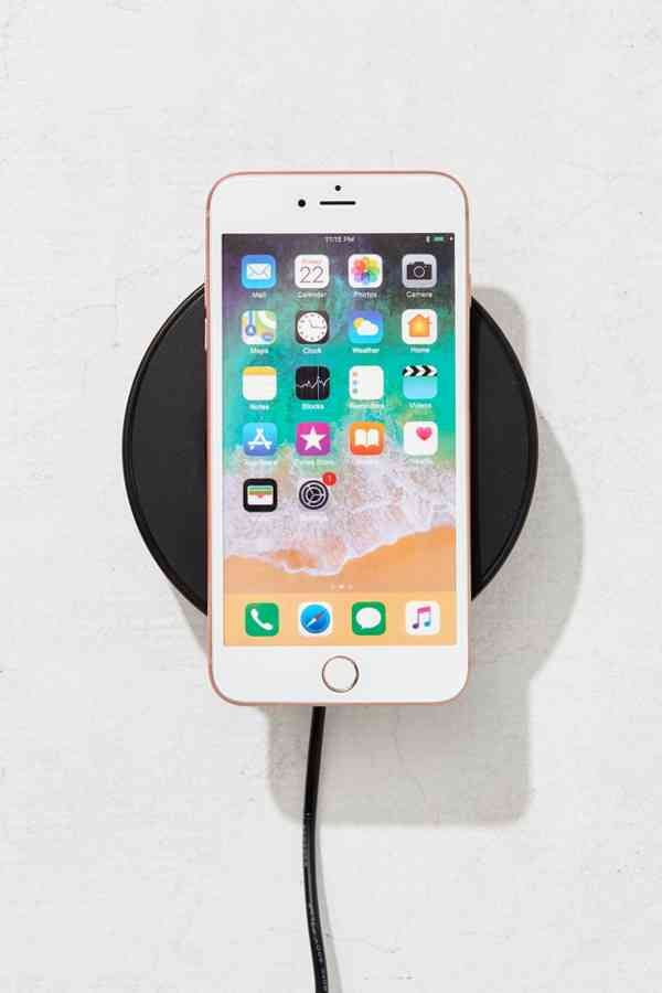 wireless charger - Because plugging your phone in IS a hassle.
