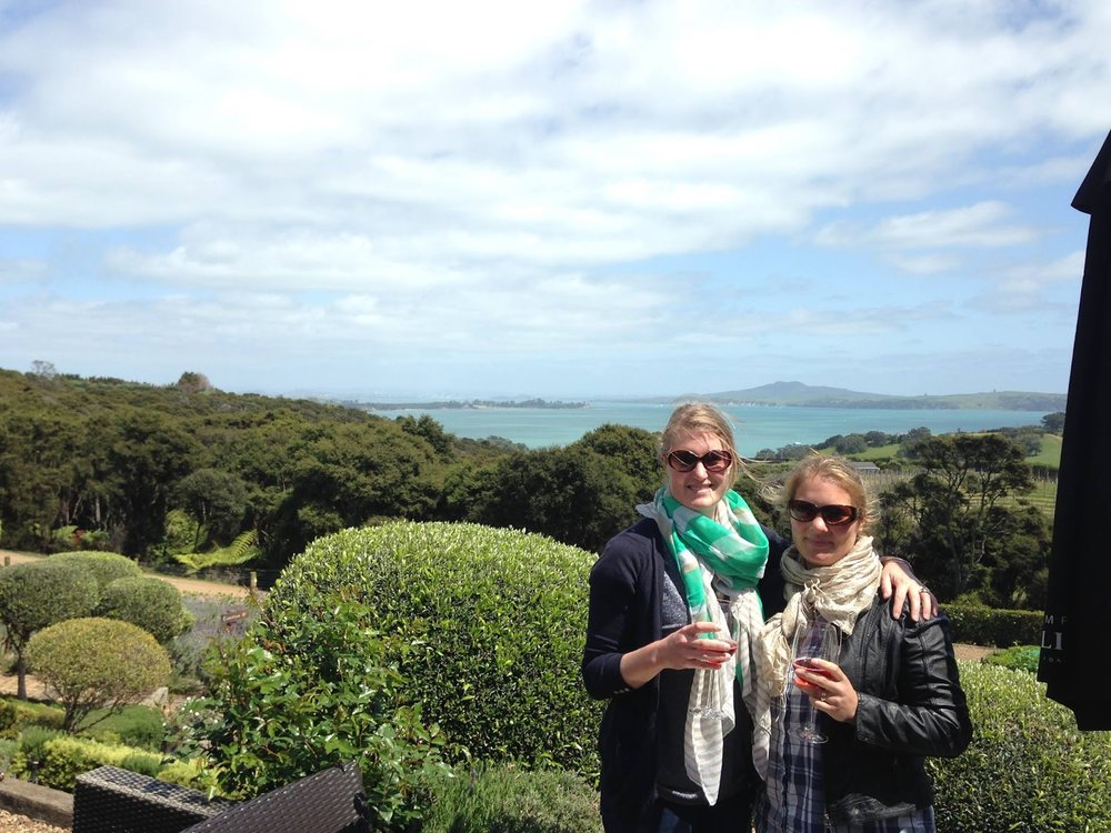 HANNAH DAVISON (LEFT) & SARAH LEOV (RIGHT), WAIHEKE ISLAND, NZ