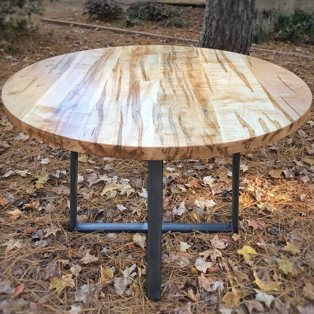 Copy of Curly Ambrosia Maple Kitchen Table