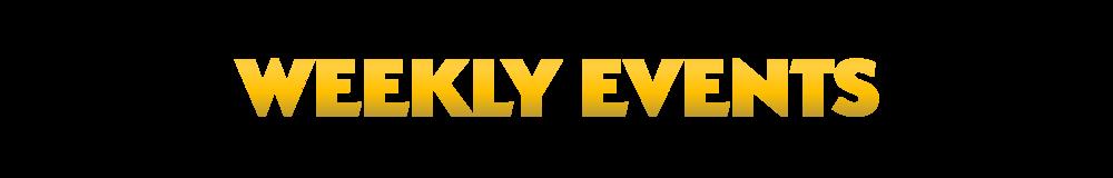 Weekly Events | F6ix