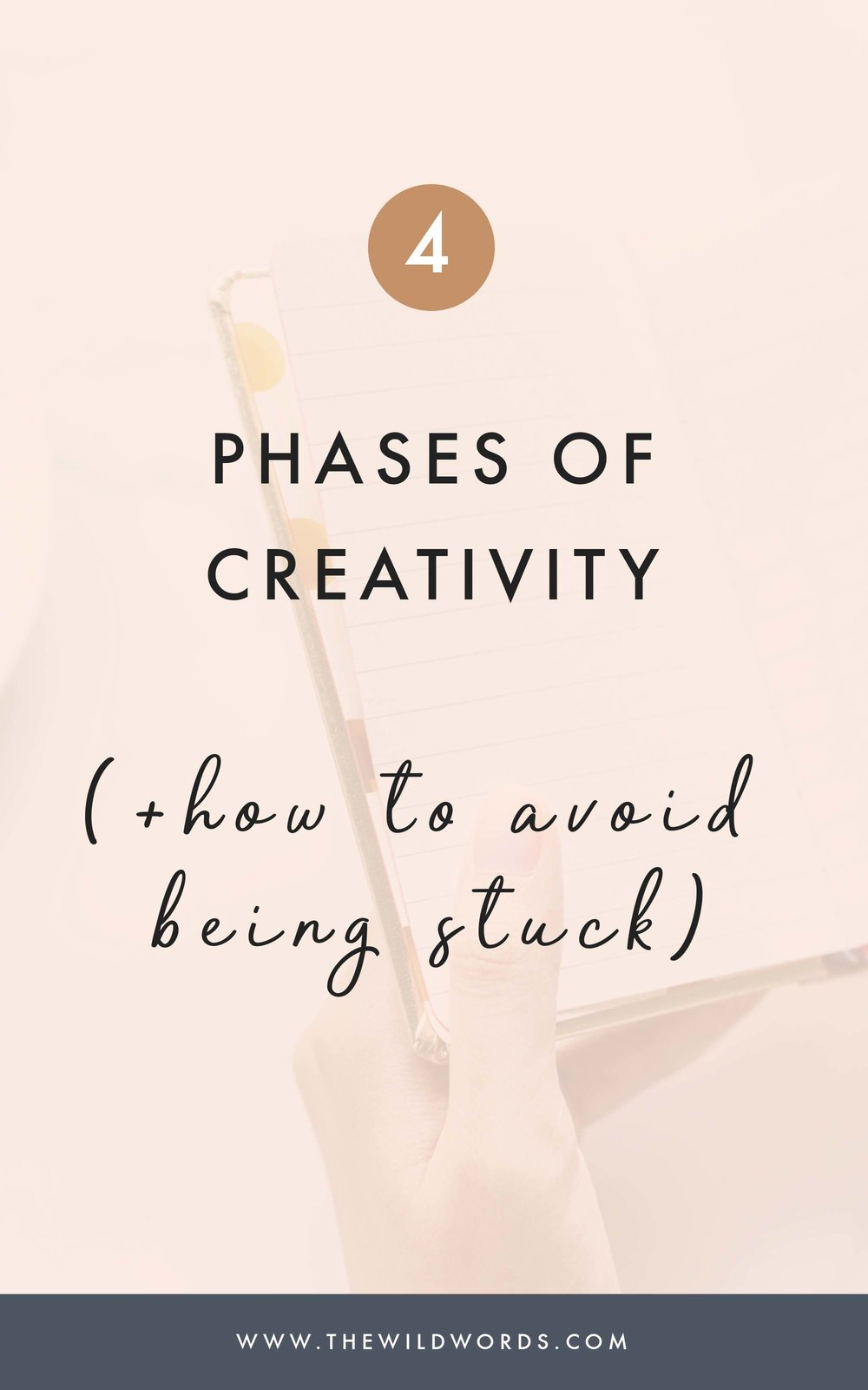 4 Phases of Creativity (via Wild Words): What happens when you're feeling stuck creativity? Todd Henry has a framework to help you avoid the common trap of getting too comfortable.