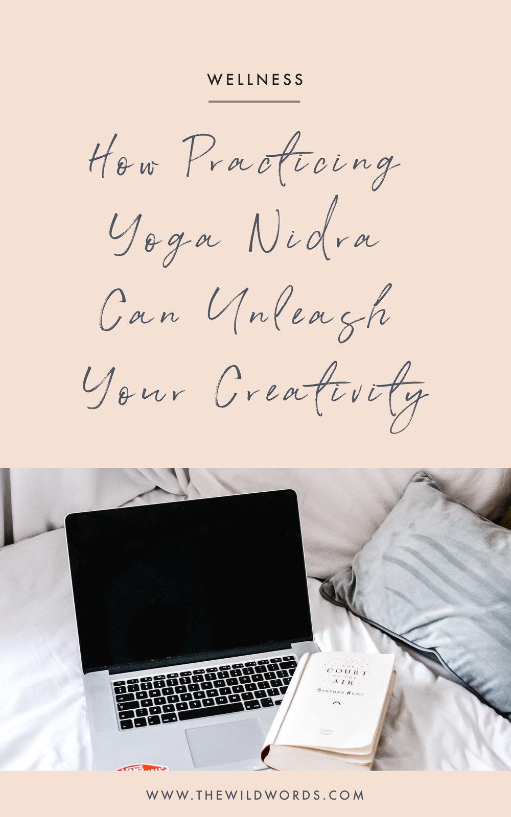 How practicing yoga nidra can help you unleash creativity. (via Wild Words)