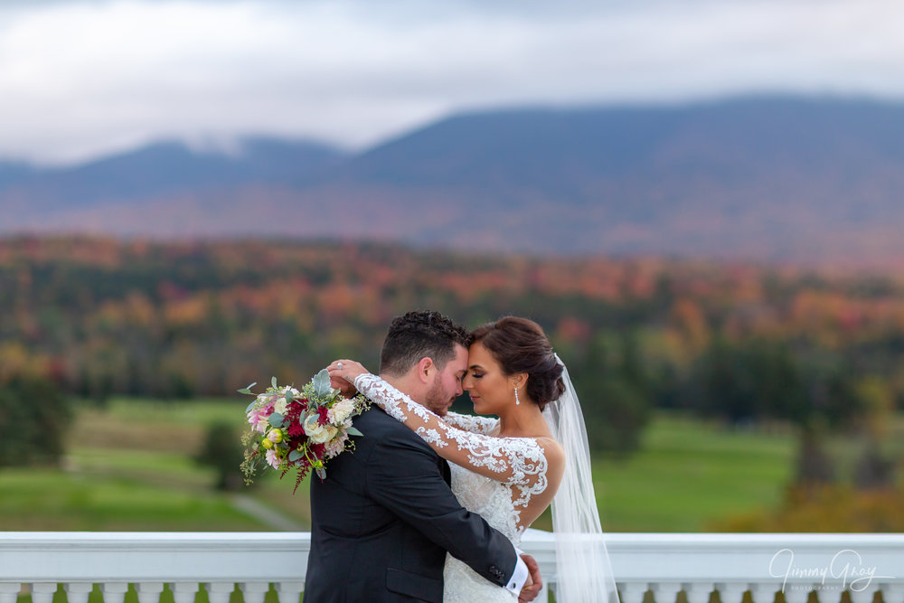 NH Wedding Photography - Jimmy Gray Photo - Bretton Woods, NH - Omni Mt. Washington Resort - Shot For MRD Photography