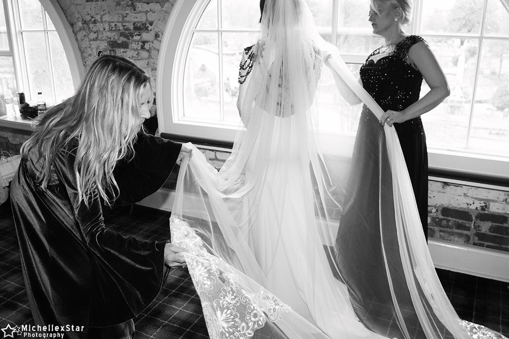 Wedding Party Preparation Photo Gallery