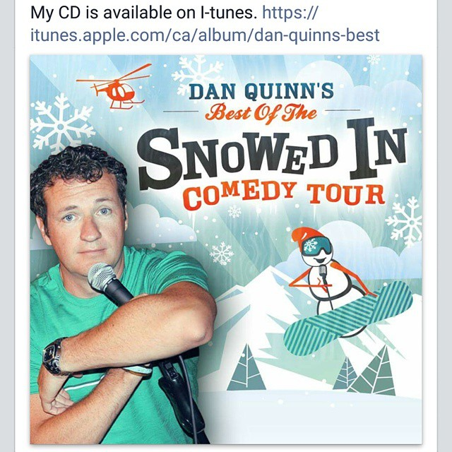 If you didn't get a chance to pick up @comicdanquinn s #jokes on the Snowed in comedy tour,  pick it up on #itunes #comedy #funny #comedian #Vancouver #Canada #pickershutcider #instafunny