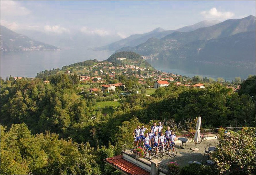 your italy bike hotel on lake como, hotel il perlo panorama