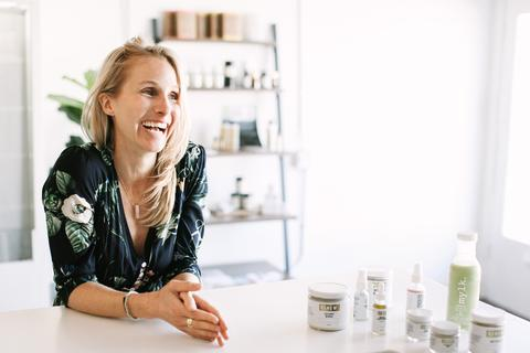 Brooke Rewa - ALMOND MILK SUPPLIERBrooke and her amazing team at MYLK have found a way