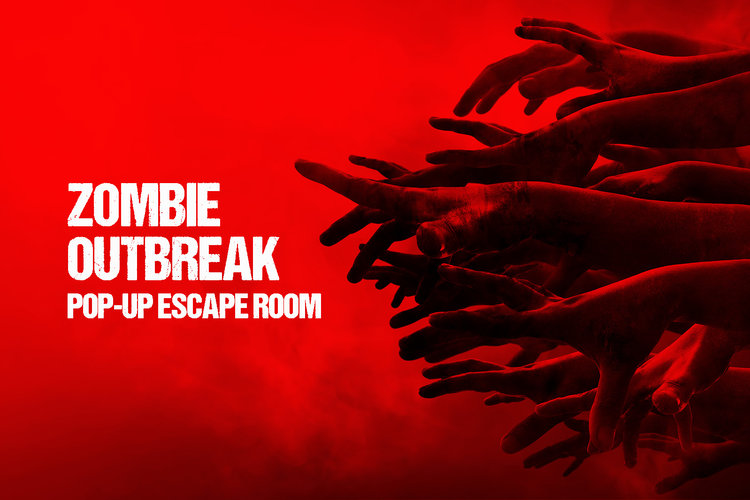 Zombie Outbreak Mobile Escape Room - Debuting at Pear Blossom April 12th