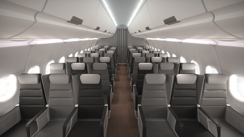 Checkerboard Aircraft Seating