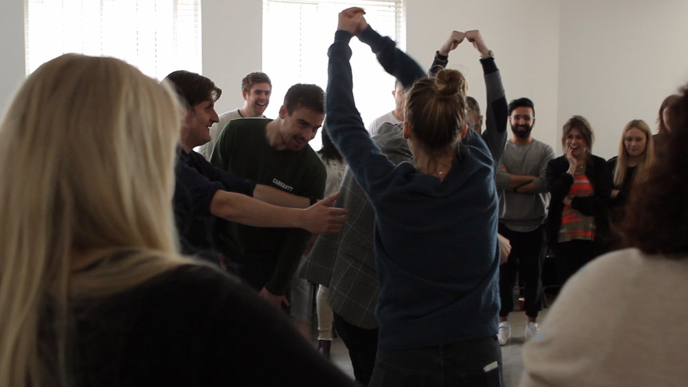 Team building - We use improvisation to teach the secrets of creative, agile and happy teams.