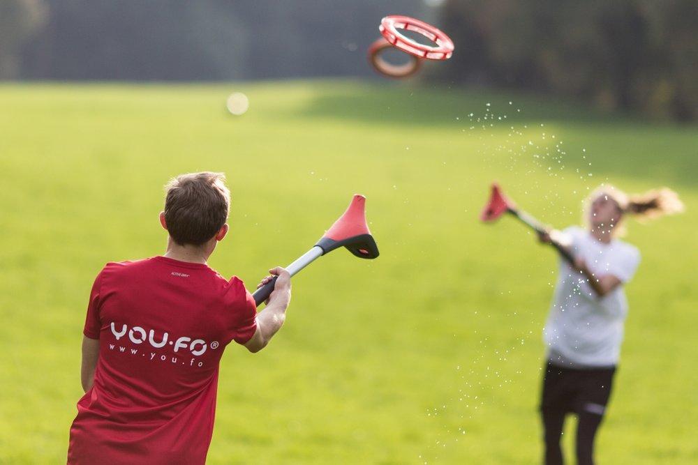 Et eksempel på hollandsk innovation i idrætten. Se og prøv You.fo på SportsFair.  Foto: You.fo, Jens Wenzel