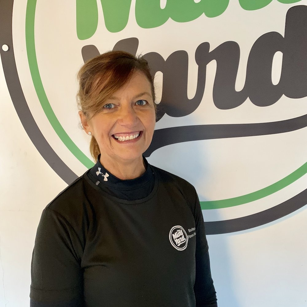 Jacqui   Jacqui has been in your shoes. She knows where you come from. She has her own amazing transformation to show you can do anything. She is our transformation specialist, because it's more than a workout. She'll be able to guide you on much more.
