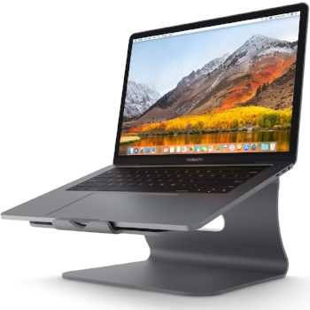 Laptop Stand - Bestand Aluminum Cooling Computer Stand.  34,20€.  Photo credit: amazon.com