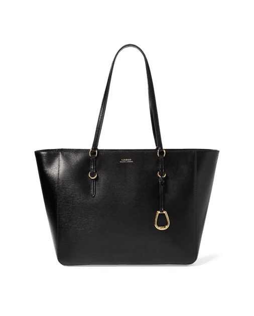 LAUREN Saffiano Leather Tote  $198.00 . Photo Credit: ralphlauren.com