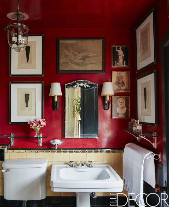 """Photo from Elle Decor """"Tour of Greenwich Village Penthouse"""""""