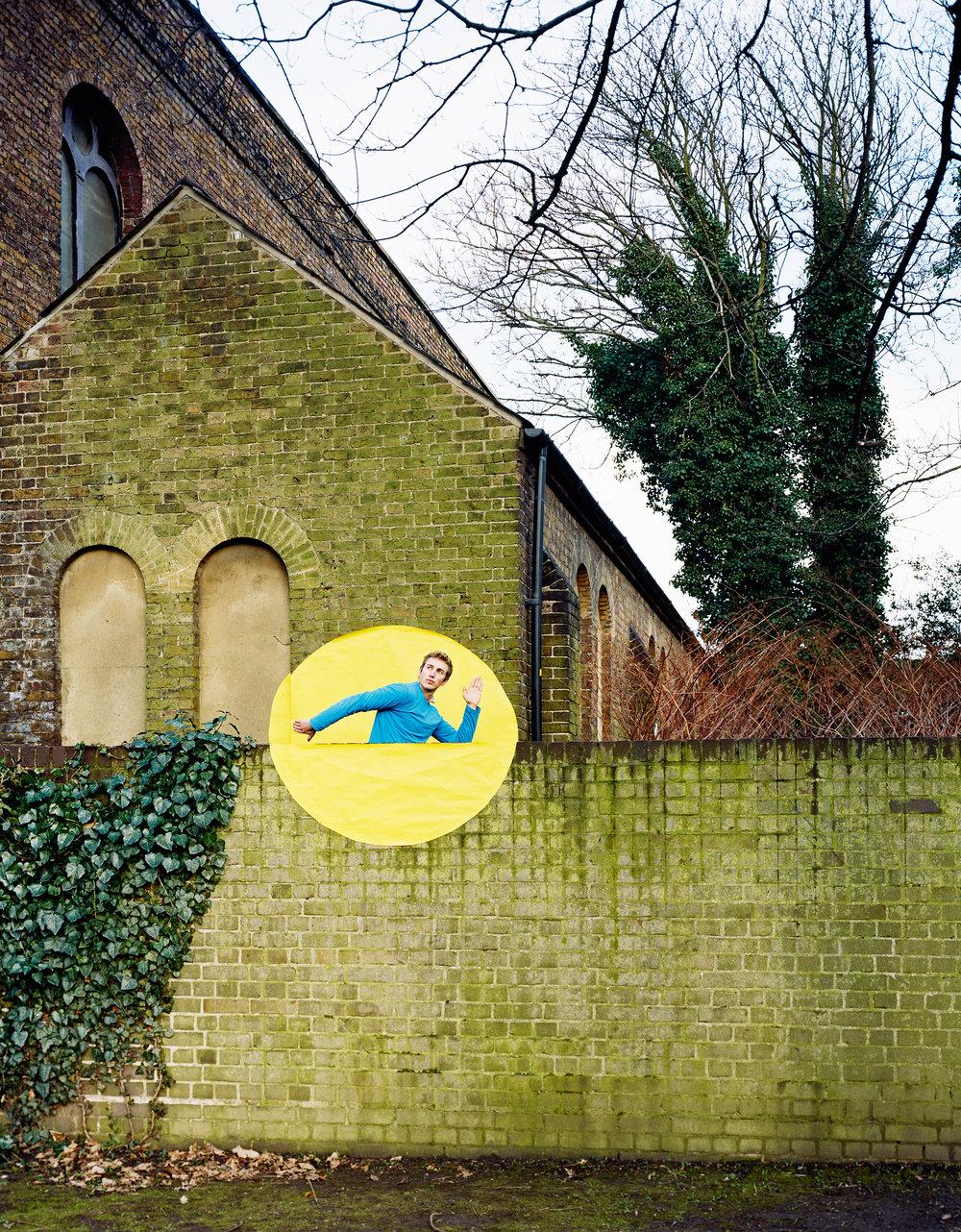Yellow Circle, C-print, 2009