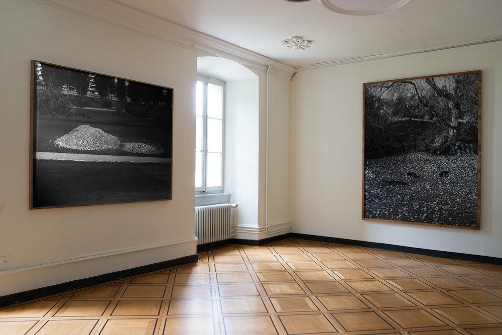 ' o o o ' exhibition shot, Le Manoir de la Ville de Martigny, 2017
