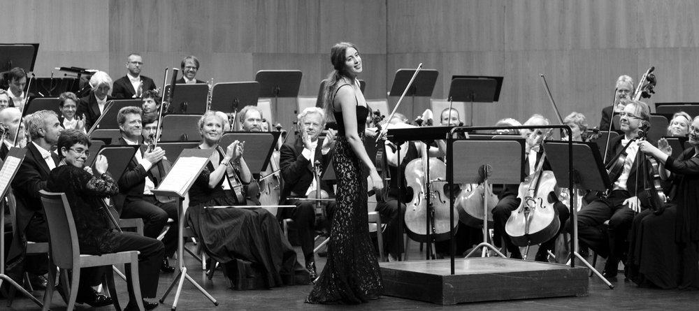 With Oslo Philharmonic Orchestra