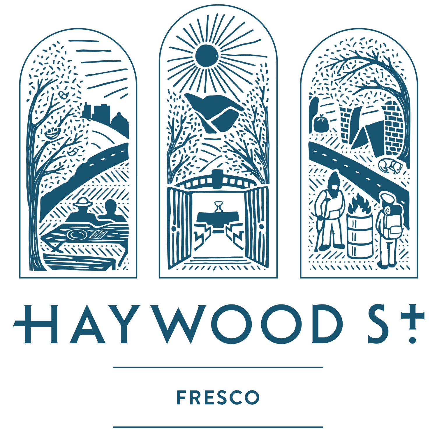 The Haywood Street Fresco