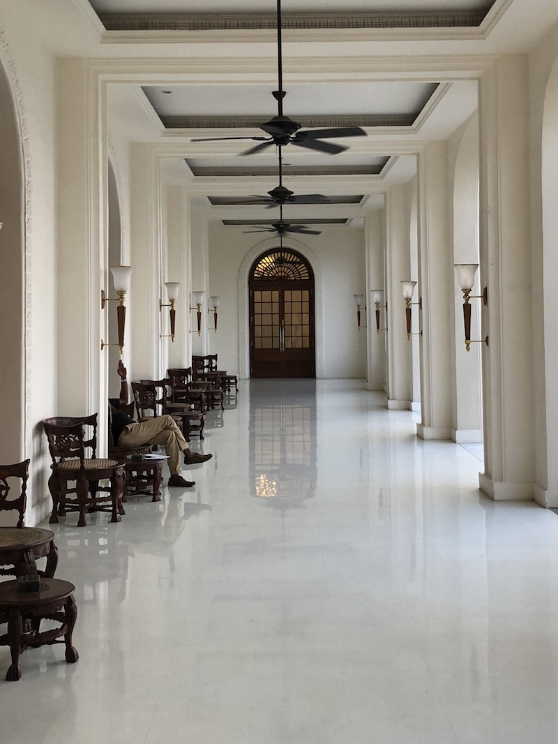The  Galle Face Hotel  in Colombo is a never-ending source of inspiration. Photo © Szilvia Molnár