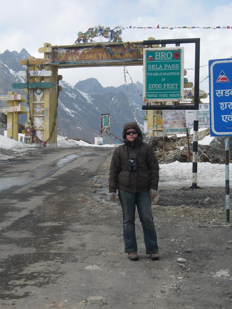 Arunachal Pradesh , India legészakkeletibb határvidéke, 2008. Fotó @ Vasas András