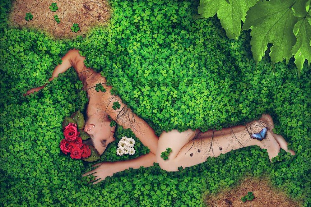 Abrazo a la Madre Tierra