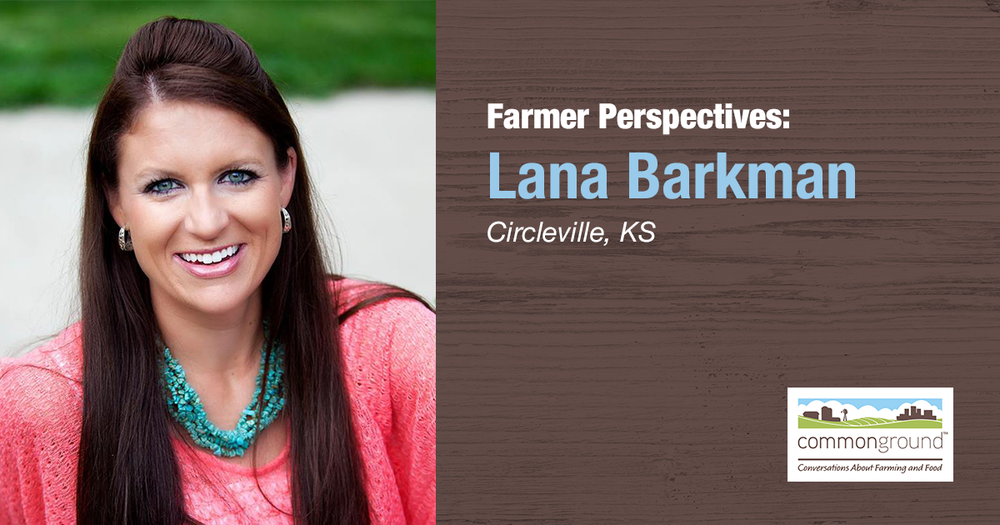 CommonGround Kansas Volunteer Lana Barkman
