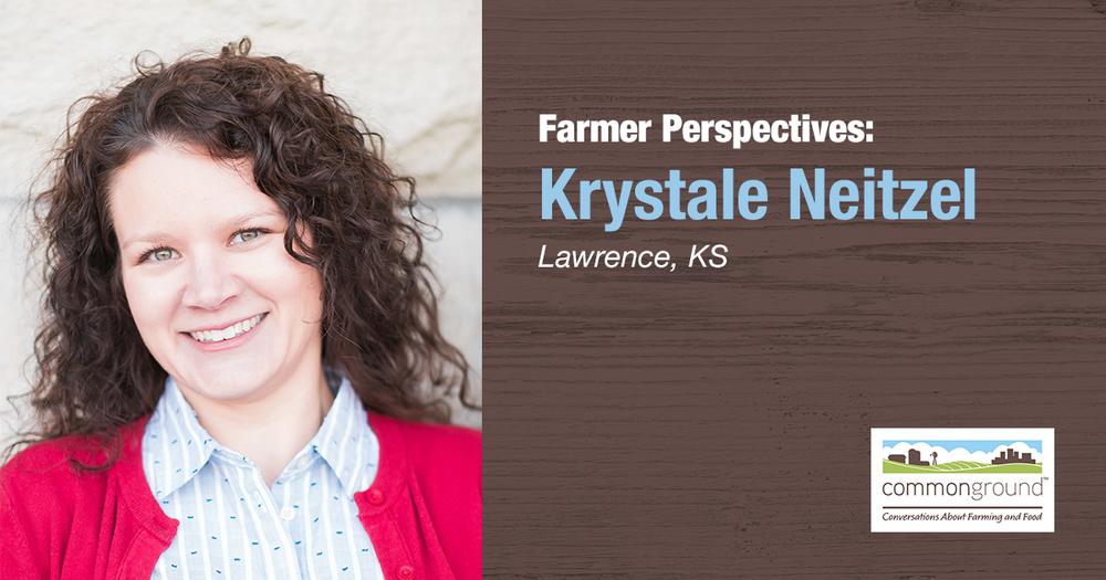 Krystale Neitzel CommonGround Kansas Volunteer