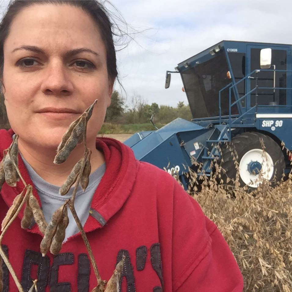 Molly Drimmel CommonGround Kansas Volunteer