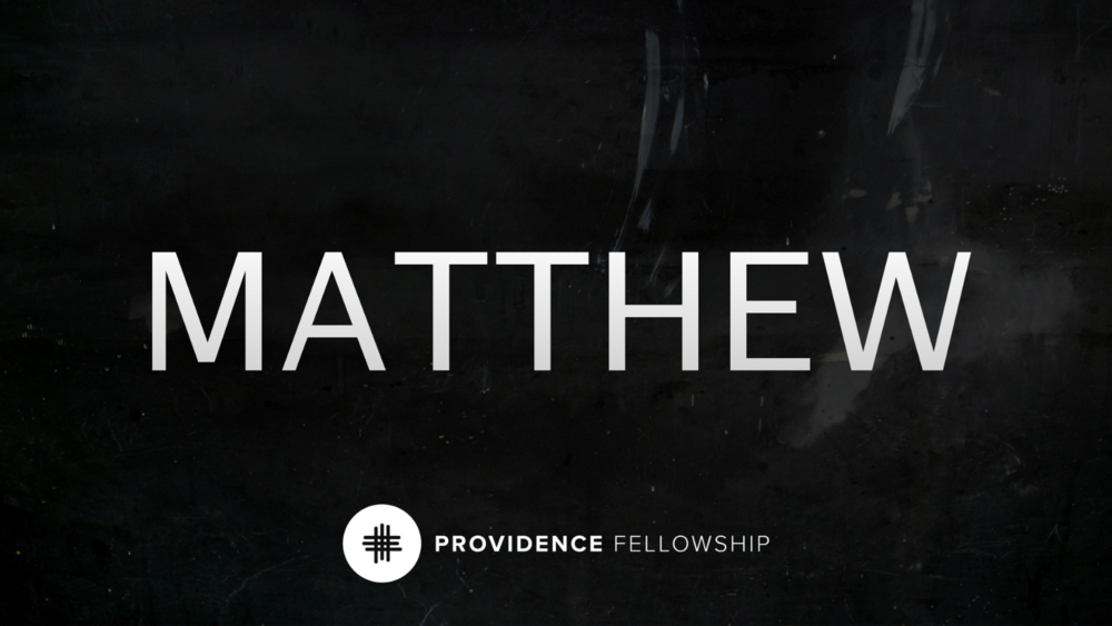 Following Jesus - Matthew 4:18-22Chad Cronin
