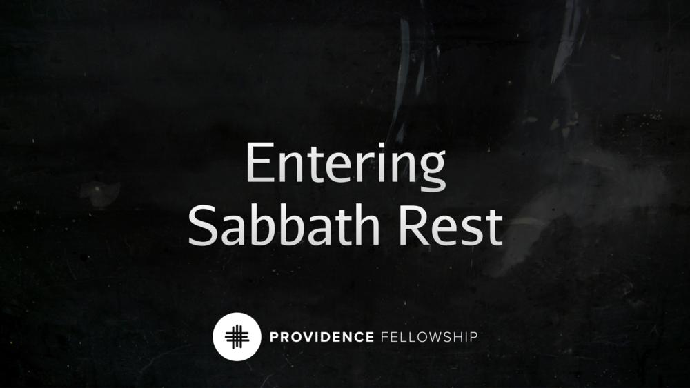 Entering Sabbath Rest - Genesis 2:1–3Chad Cronin