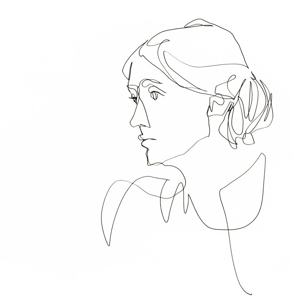 1_Image_Single Continuous Line_Virginia Woolf_©TamarLevi 148.jpg