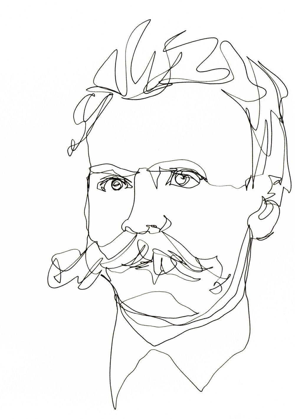 4_Image_Single Continuous Line_Nietzsche_©TamarLevi 127.jpg