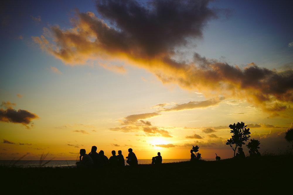 Fitnessreisen nach Bali und tolle Sonnenuntergänge erleben
