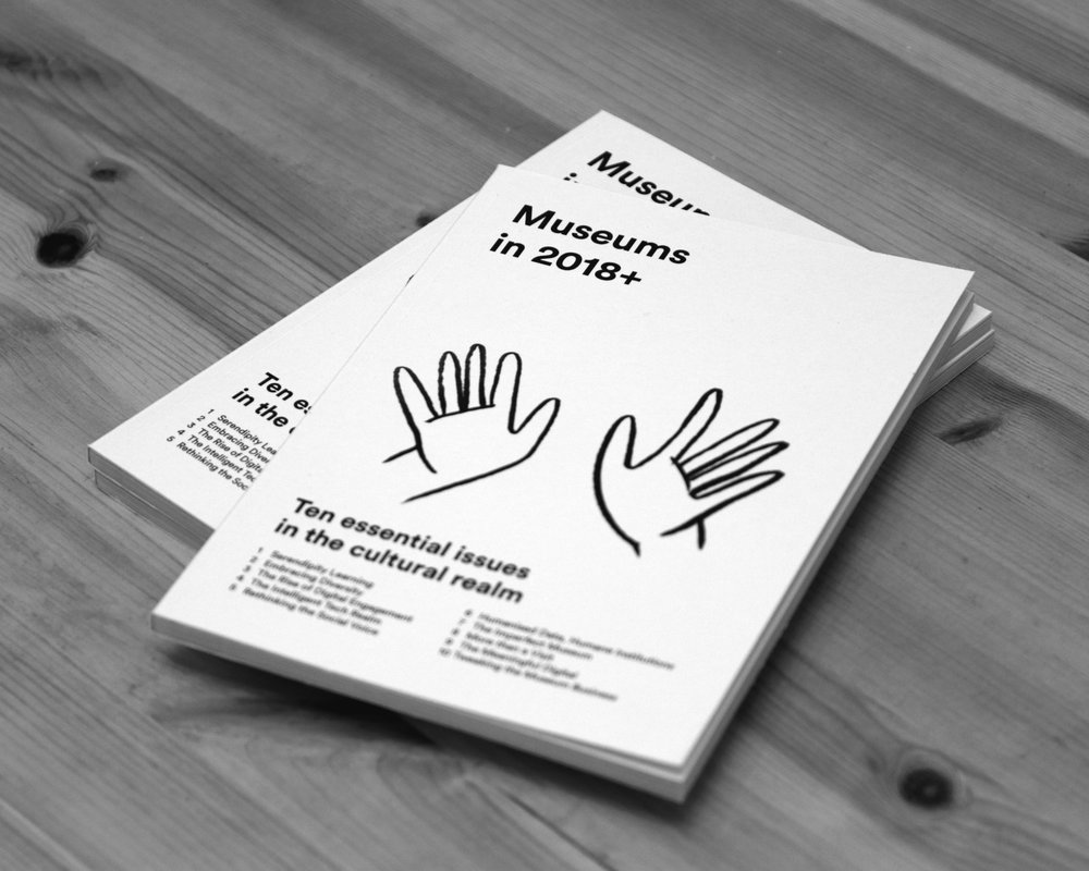 Museums in 2018+ - Jüniör's Trends Booklet is a yearly activity where we trace and bring insights from cultural institutions worldwide by focusing on their technological, social and economical developments. Our aim is to introduce ideas, inspirations and tips related to innovation in cultural sector by gathering them in a notebook for our community. The growing interest in redefining the role of cultural spaces and the impact of digital transformation guided the 2018 Theme and 'Museums in 2018+ Ten Essential issues in the cultural realm' is born.Read more
