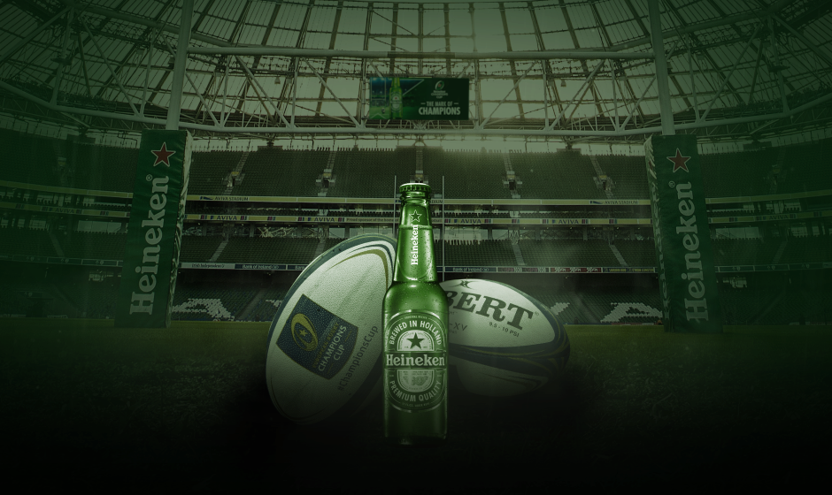 We've increased Heineken's rugby equity through direct communications - a first for the brand.