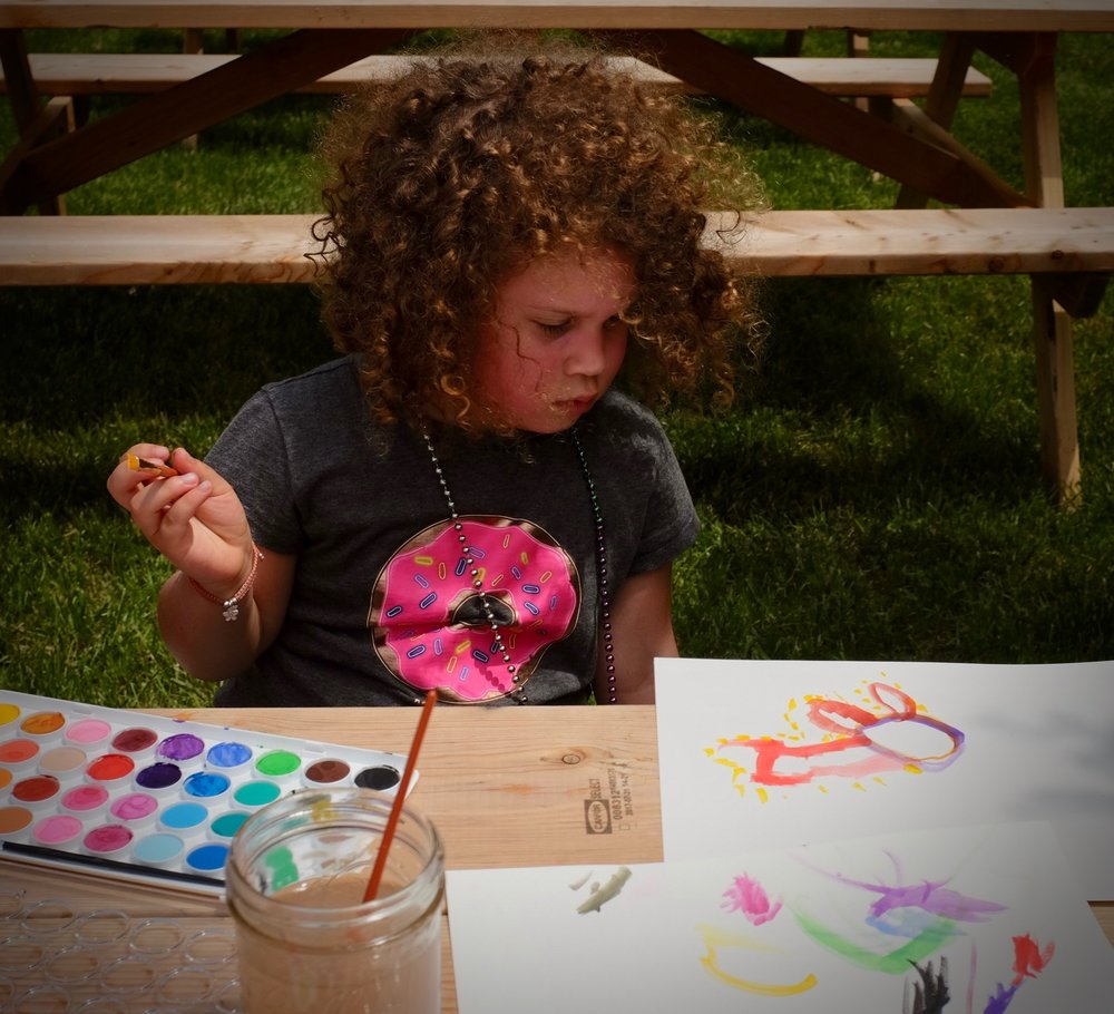 Doodling Station - One of the best ways to access nature is by noticing your environment and creating in response. As usual we'll have a doodle station available where you can enjoy the farm setting while you do some creative play with provided materials. Children and grown-up children welcome.