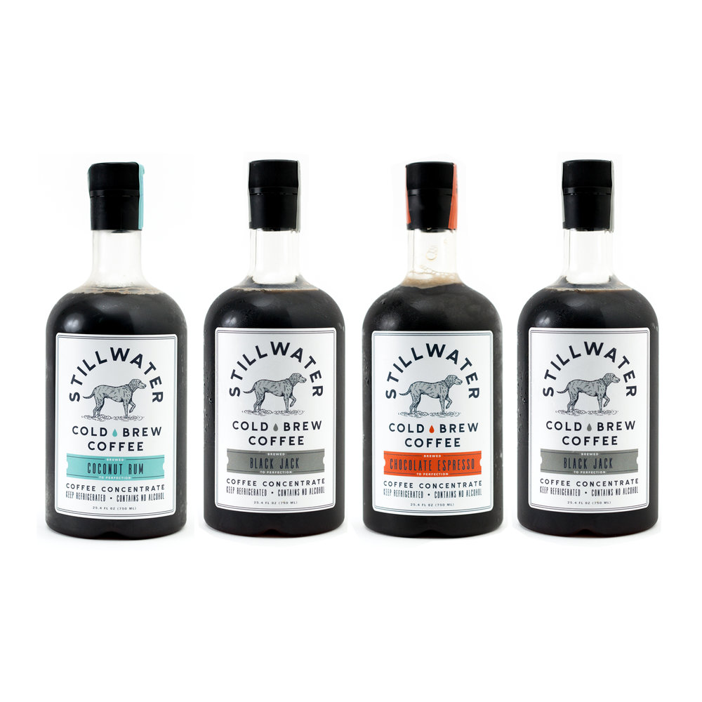 4-Pack Cold Brew Coffee Concentrate