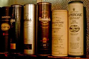Whisky bottle gift cartons