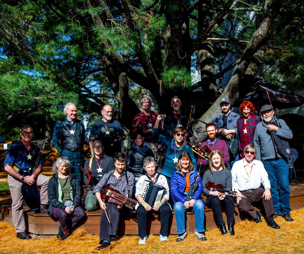 2018 Pipers Rendezvous at Orford Musique - Group photo