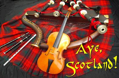 Enjoy this musical tour of Scotland with Gordon Mooney.