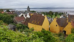 Culross Palace from the Gardens