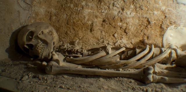Catacombs skeleton