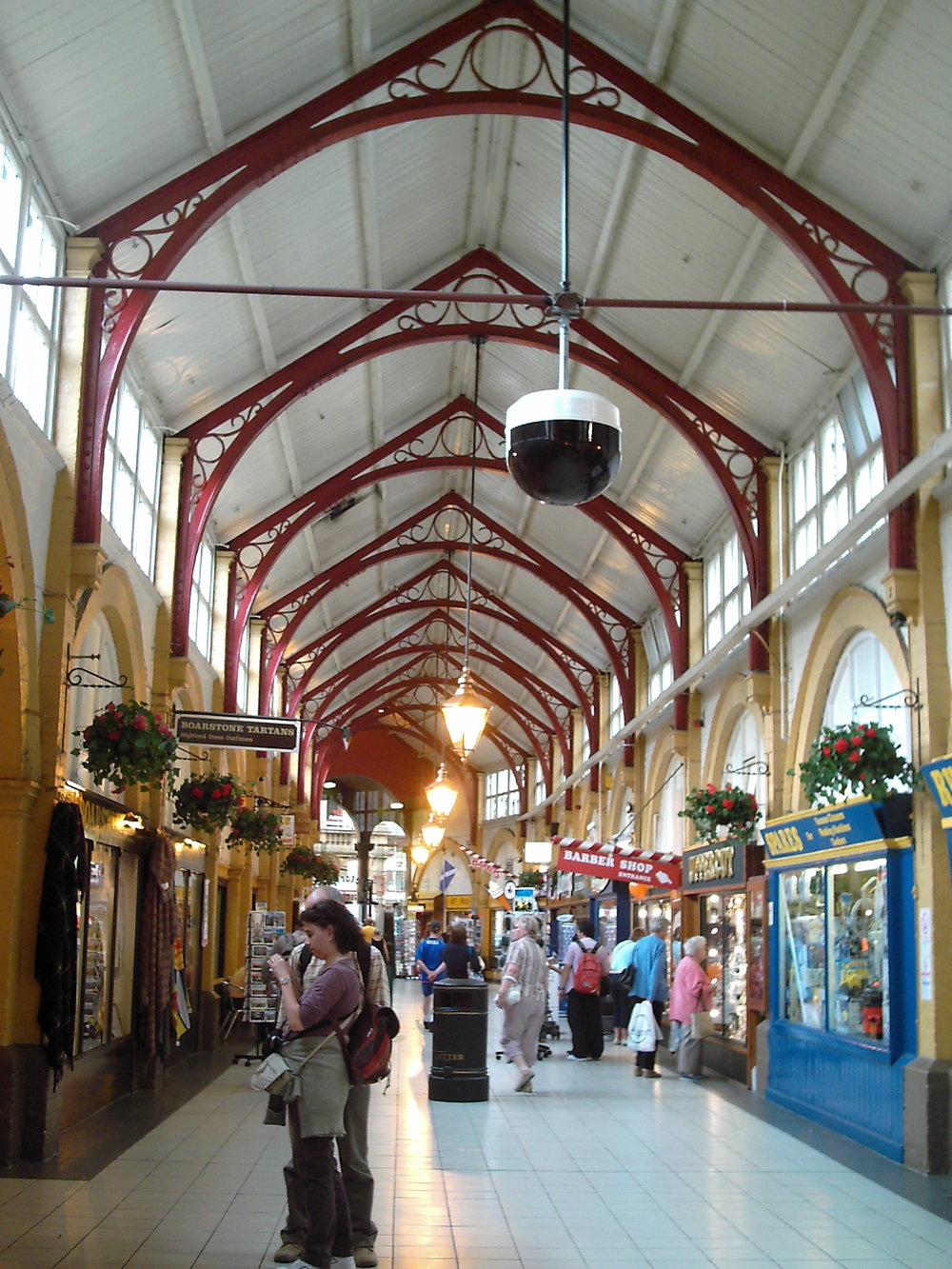 Inverness, Scotland Victorian Market arches