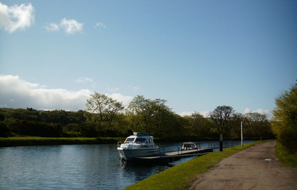 Pleasure boating on the Caledonian Canal